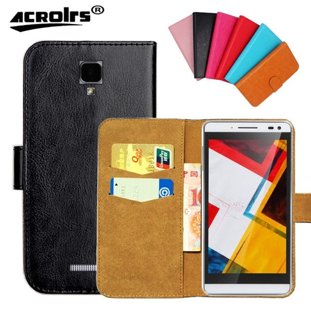 Original ! Nous NS 6 Case, 6 Colors High Quality Leather Exclusive Cover Case For Nous NS6 Tracking