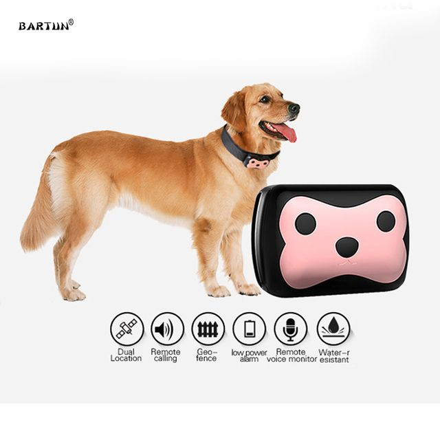 Waterproof MiNi Pet GSM GPS Tracker Locator Collar For Dog Cat Long Standby Geo-Fence LBS Free APP Platform Tracking Device D69
