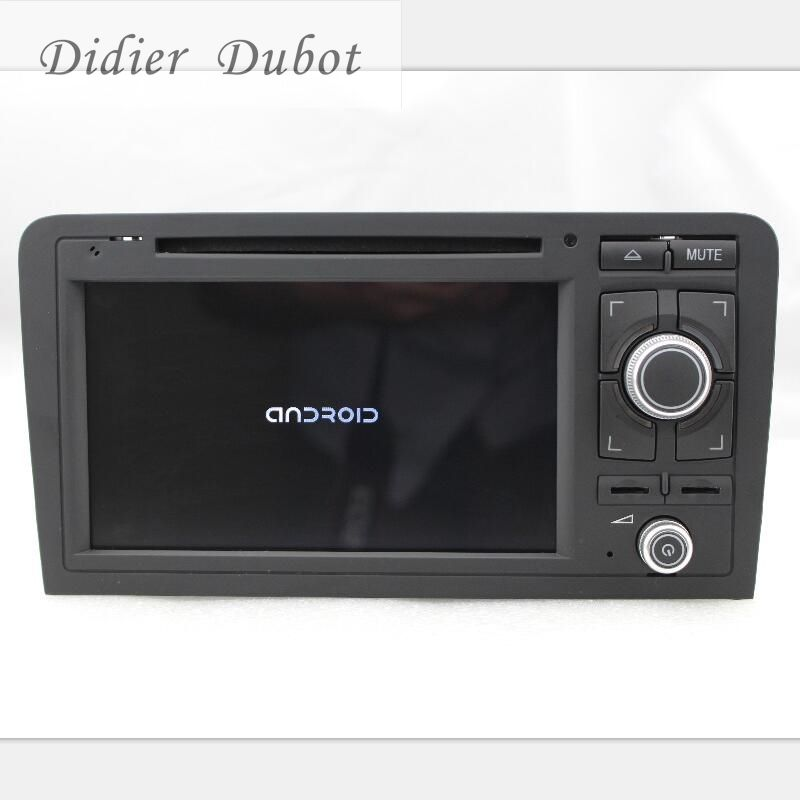 2 Din Car Radio DVD Player for Audi A3 S3 2003-20138 Car radio Stereo With BT Ipod Steering wheel 3G