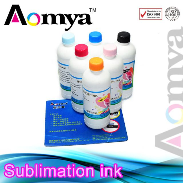 T-shirt Transfer ink 6 colors Water Based Dye Sublimation ink for Epson Stylus Photo R310 R320 R325 R330 R340 R350 RX300 Non OEM