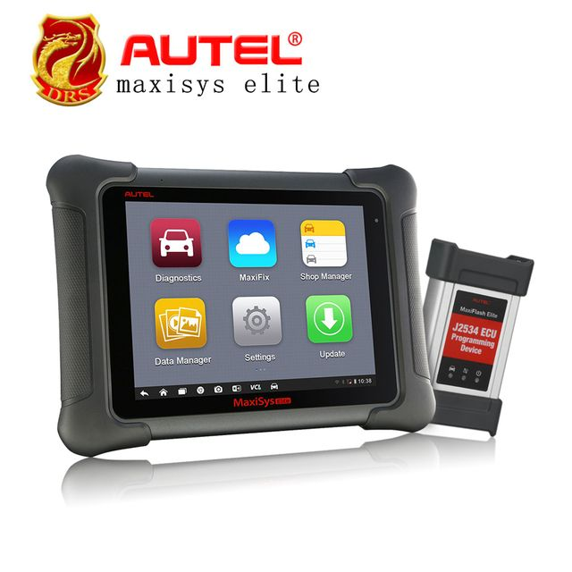 Original AUTEL MaxiSys Elite ECU Car ECU Diagnostic-tool 2x Faster Than MS908p better than maxisys ms906 908 pro Scanner