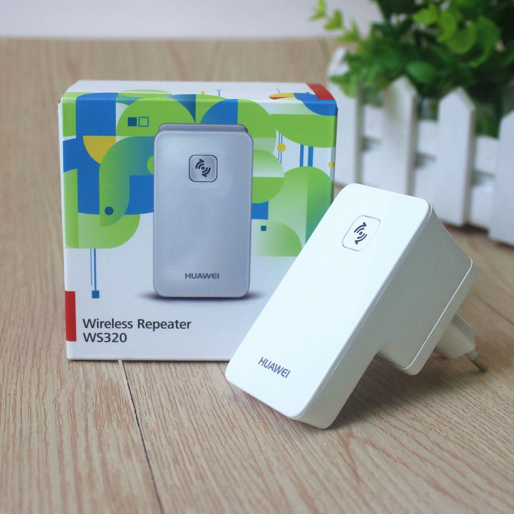 Huawei WS320 W-LAN WiFi Repeater Wireless Network Range Extender Boost