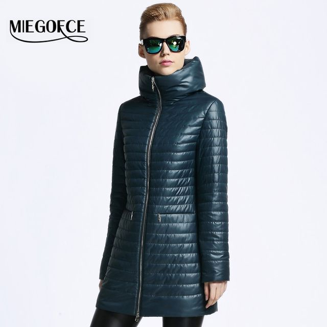 Women Thin Cotton-padded jacket coat MIEGOFCE 2016 spring autumn High Quality Quilting Parka leisure new European Style outwear