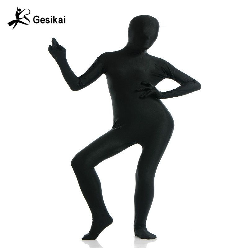 Halloween Costume Womens Full Bodysuit Spandex Lycra Second Skin Tights Suit Womens Performance Suits