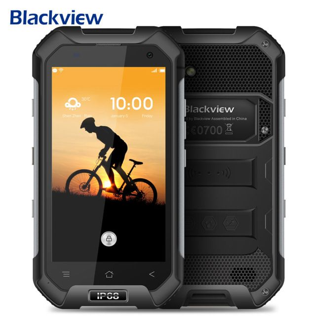 "Blackview BV6000S IP68 Waterproof 4G Android Mobile Phone Quad Core 2GB+16GB Shockproof 4.7"" HD 8MP Smartphone 4200mAh GPS Phone"