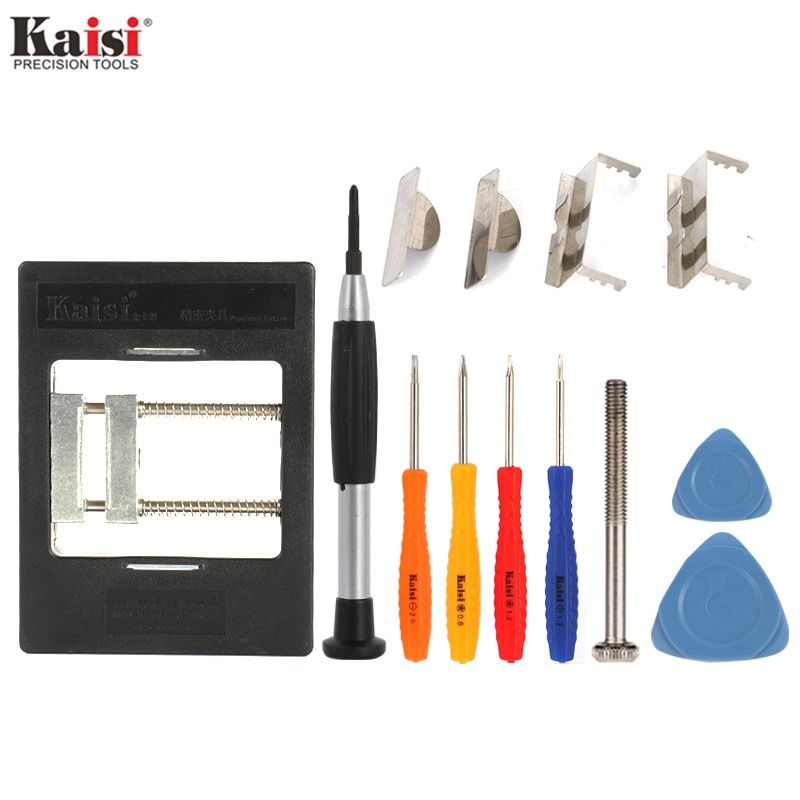 Kaisi KS-1200 Precision Fixture BGA PCB Rework Station Holder Screwdriver Kit Mobile Phone Circuit Board Repair Tools