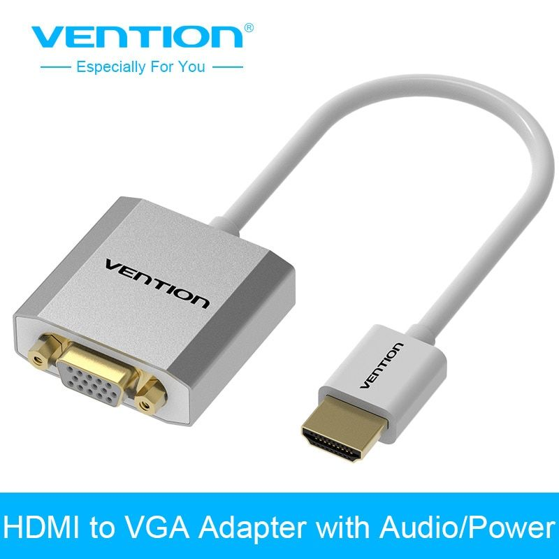 Vention HDMI to VGA Adapter Converter Cable Male to Female Audio & Micro USB port power for XBOX PS3 active HDMI VGA converter