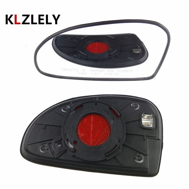 2 PCS LEFT + RIGHT For Kia CERATO heating 2005-2007 Ersatzglas Spiegelglas Side Rearview Wing Side Mirror Glass