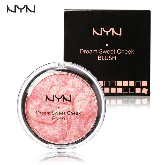 NYN Face Makeup Baked Blush Palette Baked Cheek Color Blusher Blush Dream Sweet Cheek Blush Palette