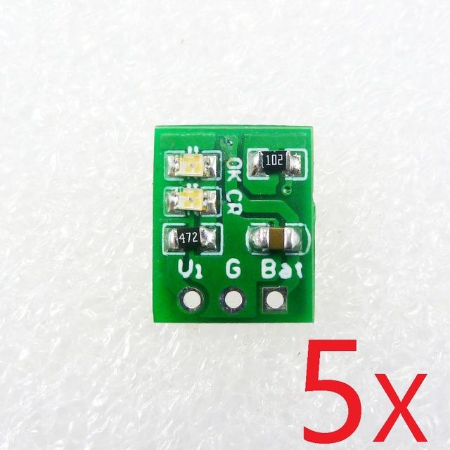 5PCS Very light & small Li-ion Rechargeable Battery Charger Module ME4056 instead TP4056 for 14500 18650 breadboard power bank
