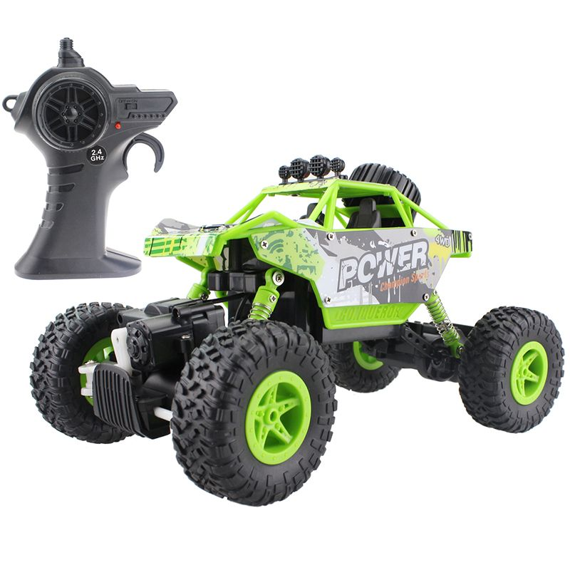 RC Car 2.4G Rock Crawler Car 4 WD Monster Truck 1:18 Off-Road Vehicle  Buggy Electronic Model Toy