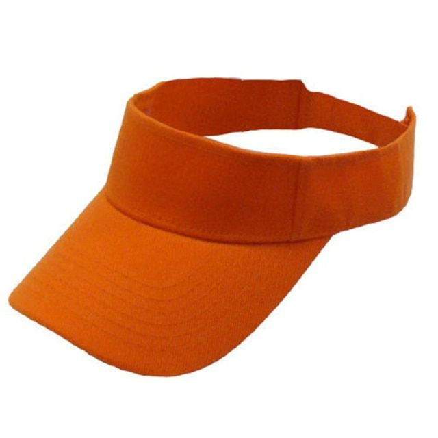 Sell Woman Man Golf Sports Cotton Sun Visor Hats Tennis Baseball Caps Wholesale