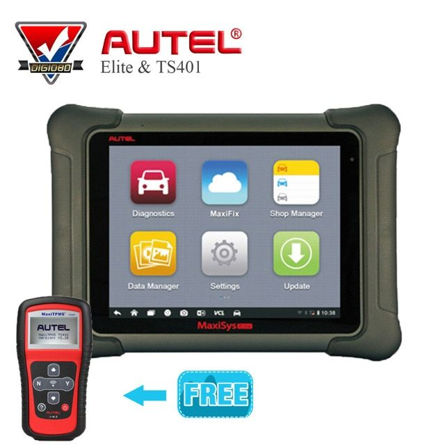 Original AUTEL MaxiSys Elite Support J2534 ECU Preprogramming 2 Year Update From MS908P PRO+Gift MaxiTPMS ts401 Diagnostic Tool