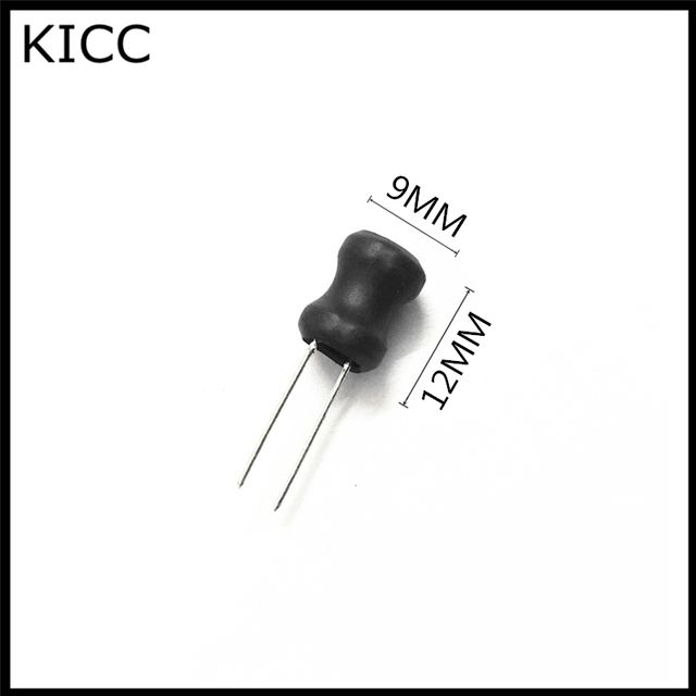 9*12mm 2.2mH 2200uH 222 Power Inductor 0912 2.2MH Plug inductance 10Pcs