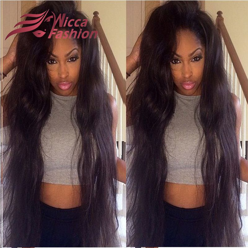 Best Long Wavy Human Hair Wigs Brazilian Virgin Hair Body Wave Full Lace Human Hair Wig Unprocessed Lace Front Human Hair Wigs