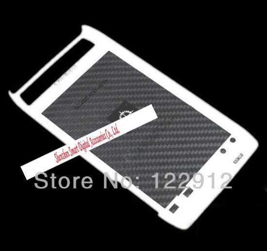 White Housing Battery Cover Rear Door For XT910 XT912 Droid For Verizon Free Shipping