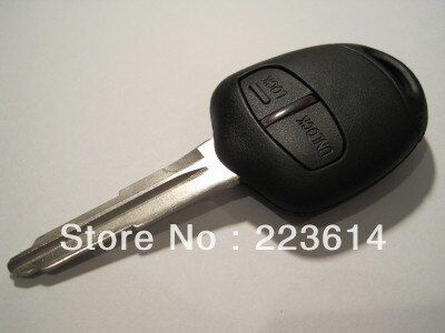 New 2 Button Remote Key For Mitsubishi L200 Shogun Pajero Triton With Uncut Right Blade(MIT11) 433mhz/315mhz with ID46 Chip