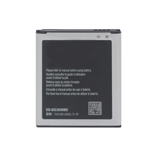 Replacement Battery For Samsung Galaxy Core Prime SM-G360F EB-BG360BBE 2000mAh NFC 4 Pin With Logo