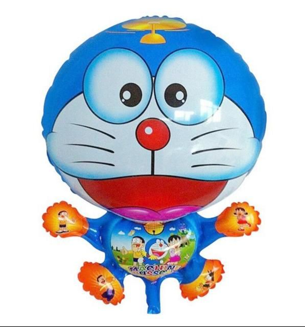 Cartoon Doraemon foil balloons Birthday Patry Room Decoration Balloons Children Toy Gift
