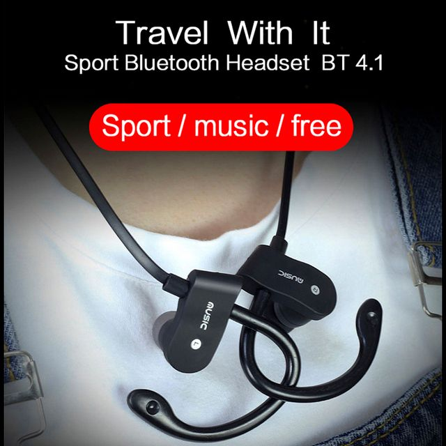 Sport Running Bluetooth Earphone For Huawei P9 Lite Dual SIM Earbuds Headsets With Microphone Wireless Earphones