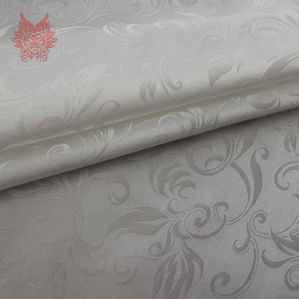 Pure 100% silk fabric with floral jacquard for dress Traditional Chinese style silk satin fabric tissue cloth tejido tela SP926