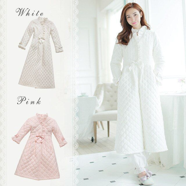 Winter Robe Sleepwear Ladies Cotton Long Robe Women Winter Ware Sleepwear Women's Sleep & Lounge Vintage Nightgown High quality