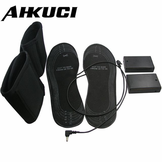 Newest shoes for size 38-46 Electric or USB Powered Warmer heating insoles