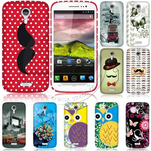 Fashion Print Skin Cartoon Cute Cover For Fly IQ451 Vista Phone Case Soft TPU Gel Silicon Back Cover