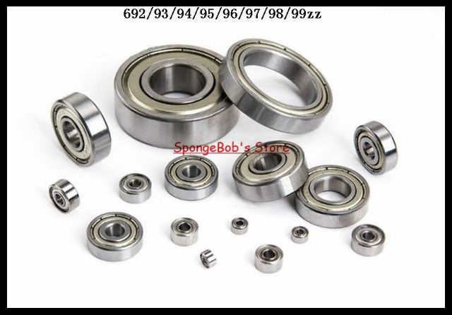 10pcs/Lot 692ZZ 692 ZZ 2x6x3mm Mini Ball Bearing Miniature Bearing Deep Groove Ball Bearing