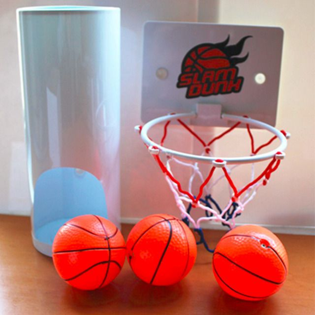 HWYHX YHX2017 NEW arrival  Funny Toilet Basketball Game Gadget -Prank Gift for Basketball Lovers