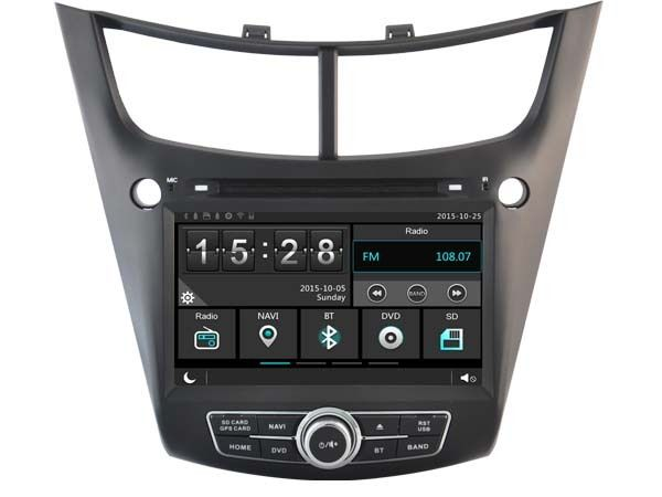 FOR CHEVROLET SALT 2014-2015 CAR DVD Player car stereo car audio head unit Capacitive Touch Screen SWC DVR car multimedia