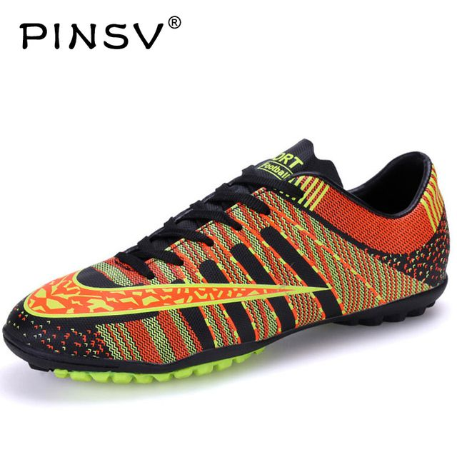 PINSV Soccer Football Shoes Kids Children Men Chuteiras Superfly Cheap Soccer Boot Cleats Indoor Soccer Shoes Superfly Boots