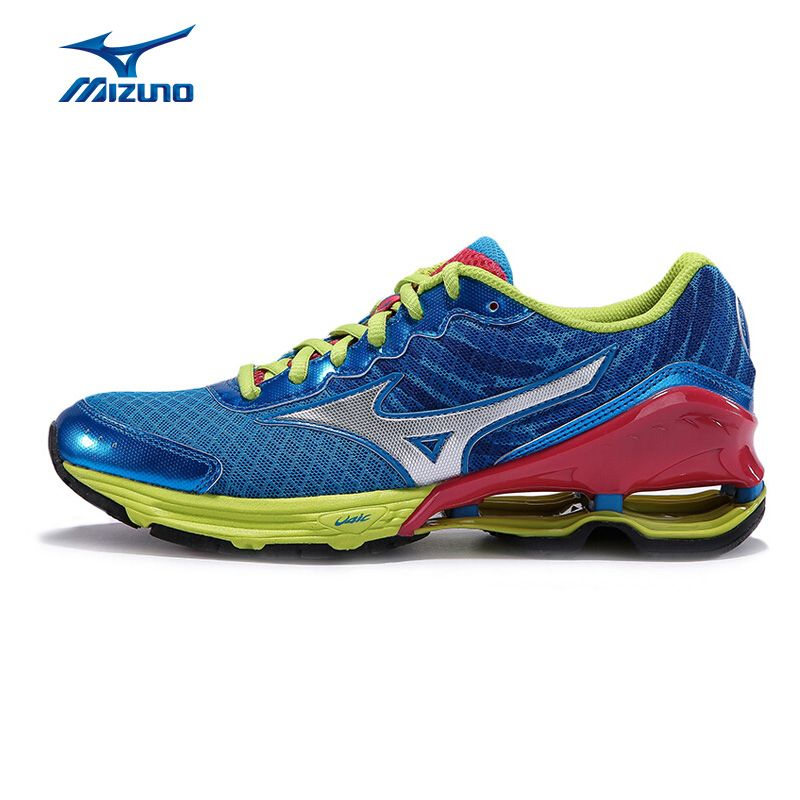 MIZUNO Sports Sneakers Women's WAVE FRONTIER 9 (W) Cushioning Midsole Intercool Jogging Running Shoes J1GL159687 XYP239