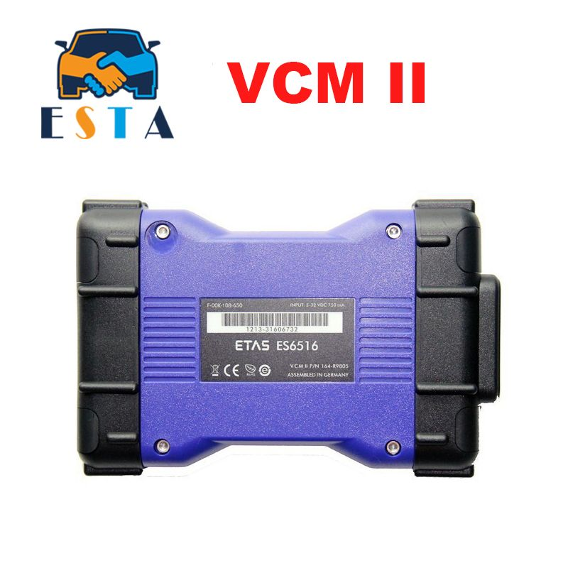 Top Professional VCM II For LandRover Diagnostics Tool Scanner Latest Version V143 VCM2 JLR for JLR VCM 2 IDS OBD2 Scanner VCMII