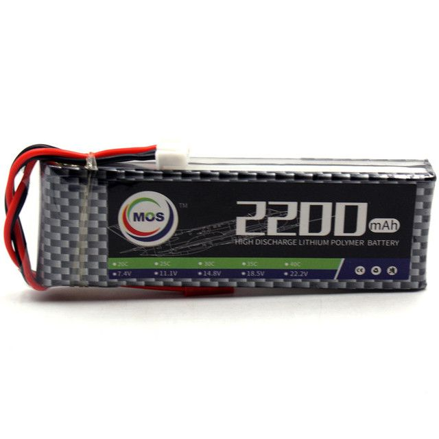 MOS 2S RC lipo battery 7.4V 2200mAh 35C Max 70C For RC Helicopter RC Car RC Boat Quadcopter Li-Polymer batteries