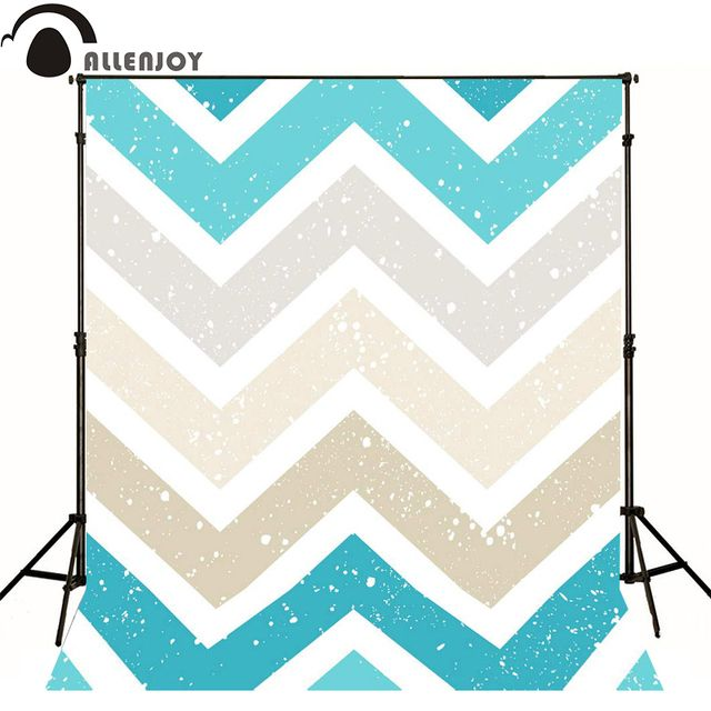 Allenjoy photography backdrops blue gray seamless pattern vintage chevron wallpaper camera fotograficac backgrounds for photo