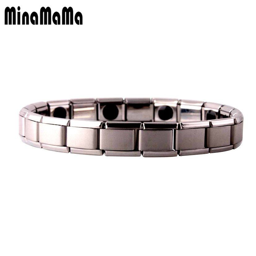 Tourmaline Energy Balance Bracelet Tourmaline Bracelet Health Care Jewelry For Women Germanium Magnetic Bracelets & Bangle