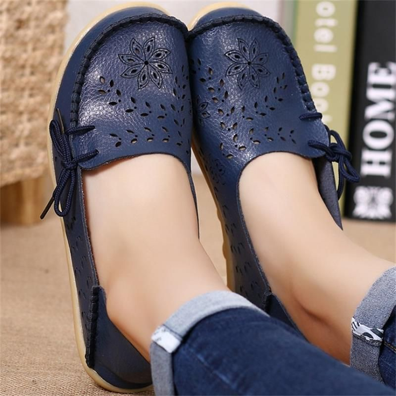 STAINLIZARD Fashion women flats shoes slip-on loafers women casual shoes wholesale leather flat shoe female zapatos mujer DNT679