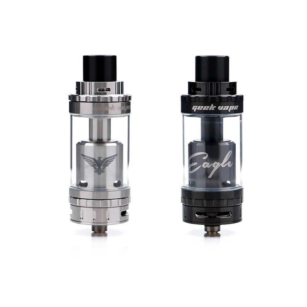 Original GeekVape Eagle Sub Ohm Tank Top Airflow Version Electronic Cigarette Atomizer With travel-to-the-coil for Box Mod Vaper