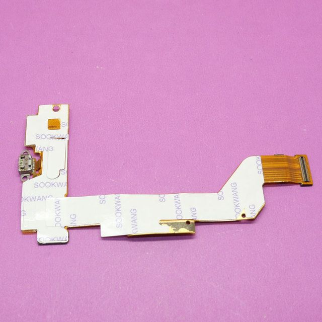 YuXi 1x New Replacement parts New Usb Charging Port Dock Connector Flex Cable for BBK VIVO X3L