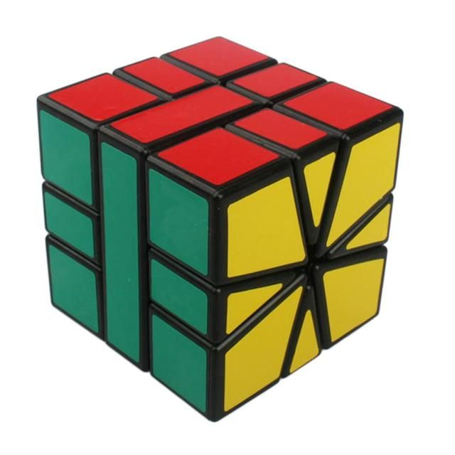 Square-1 SQ1 3x3x3 Speed Magic Cube Puzzle Cubes Toys For Kids