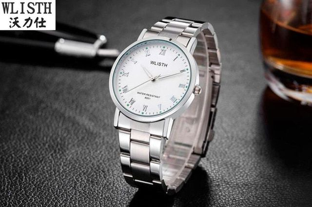 Chinese brand men's watches Simple models of ultra-thin belt men's watches Luminous casual waterproof quartz watch