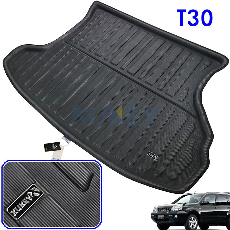 Accessories Fit For Nissan X-Trail T30 2001 2002 2003 2004 2005 2006 2007 Rear Trunk Tray Boot Liner Cargo Floor Mat Xtrail