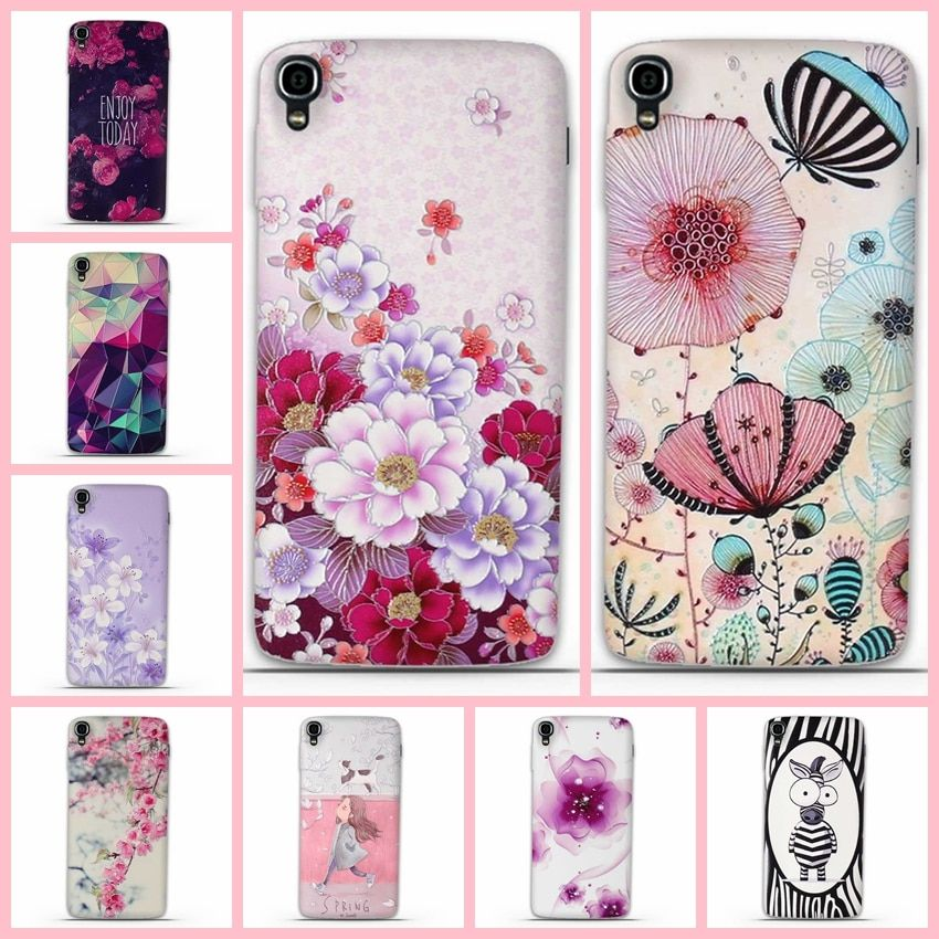 Phone Case For Alcatel OneTouch Idol 3 Cases 6039 6039A 6039K 6039Y Cover one touch idol3 4.7 '' Silicon Cover  Mobile Phone Bag