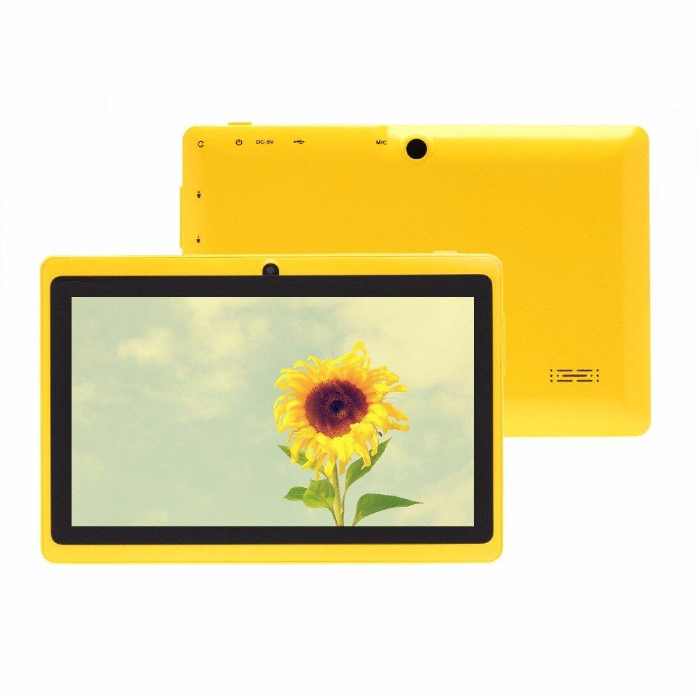 7 Inch Tab Pc WiFi Quad Core Tablet Pc 8GB Flash Storage Better For Children Gifts Tablet Pc Mini Tab Cheap And Simple