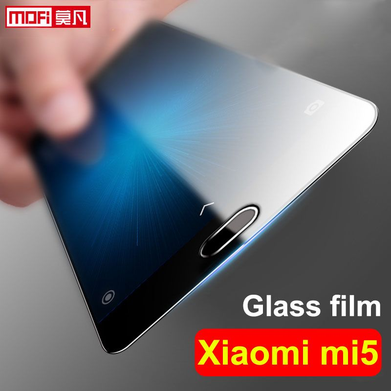 xiaomi mi5 glass tempered screen protector xiaomi mi5 tempered glass film 9H clear mofi full cover xiaomi mi5 screen protector