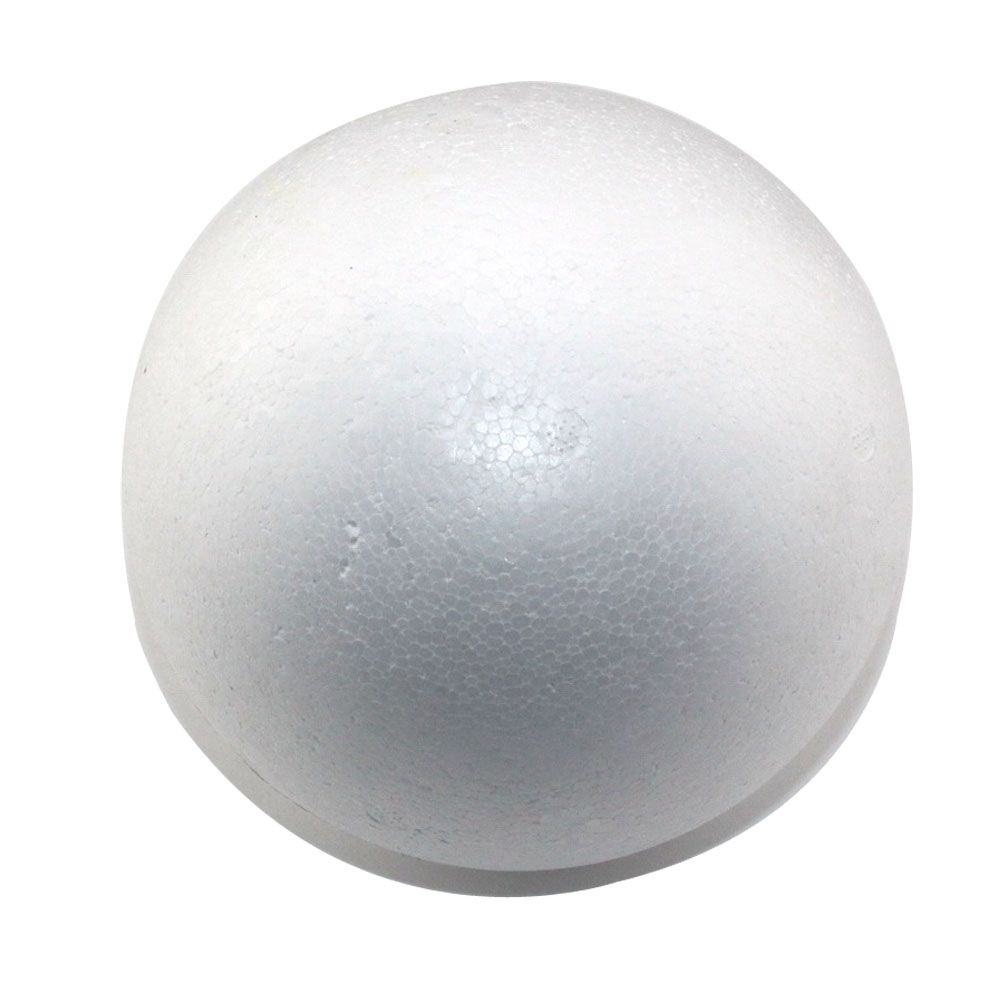 CCINEE wholesale 9cm natural white styrofoam round balls Craft ball foam ball diy handmade painted ball(24pcs/lot)