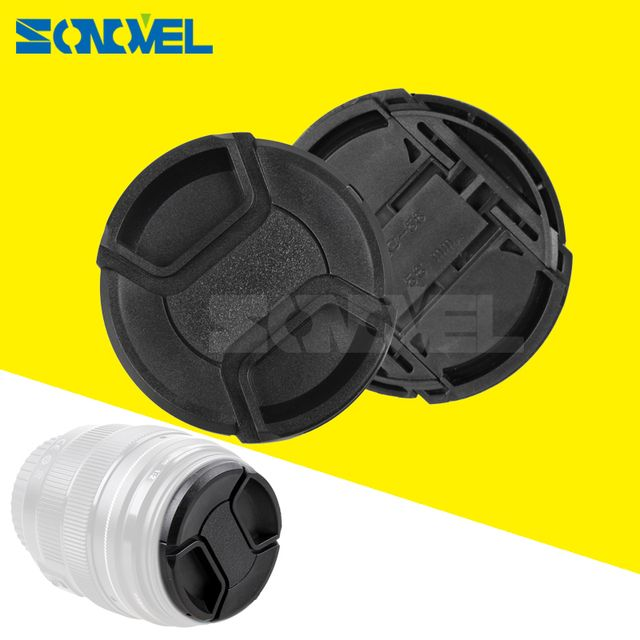 Universal Camera Lens Cap Protection Cover 49/52/55/58/62/67/72/77 lens cover provide choose With Anti-lost Rope