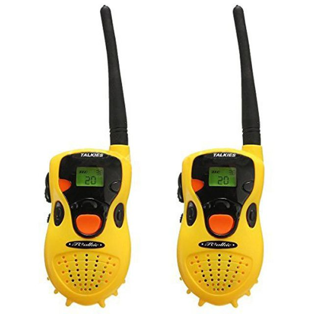 2pcs Kids Portable Mini Intercom Electronic Walkie Talkie Toy Two-Way Radio