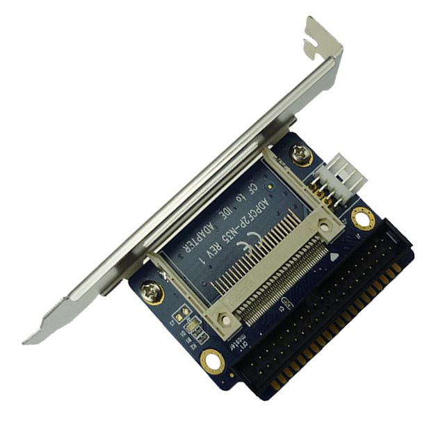 Good Sale Single Compact Flash CF To 3.5 IDE 40Pin Male Adapter Card  ADP00208